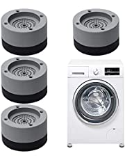 Piedini per lavatrice antivibrazione,4 Pezzi Piedini per Lavatrice,Tappetino Antivibrazione per Lavatrice,Piedini in gomma antiscivolo per lavatrici,piedini lavatrice antivibrazione