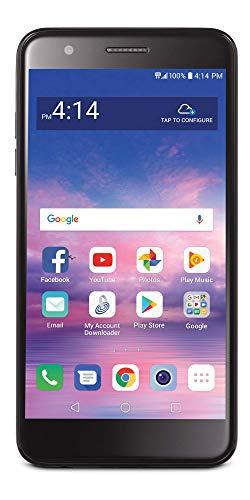 TracFone LG Premier Pro 4G LTE Prepaid Smartphone (Locked) - Black - 16GB - Sim Card Included - CDMA