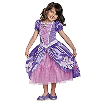 Disguise Disney Junior Sofia the First Next Chapter Deluxe Girls  Costume Multi M  3T-4T