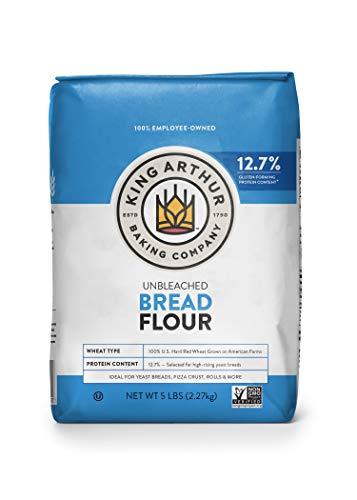 King Arthur Flour, Unbleached Bread Flour, 5 lb