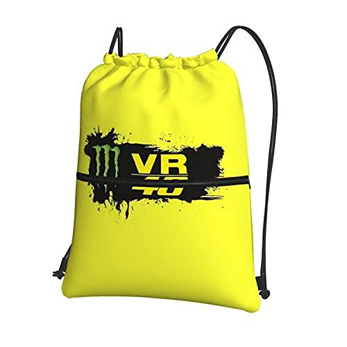 Valentino Rossi VR46 - Mochila con cordón para niños