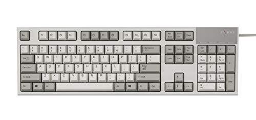 Realforce R2 Tastatur elfenbeinfarben Full Size