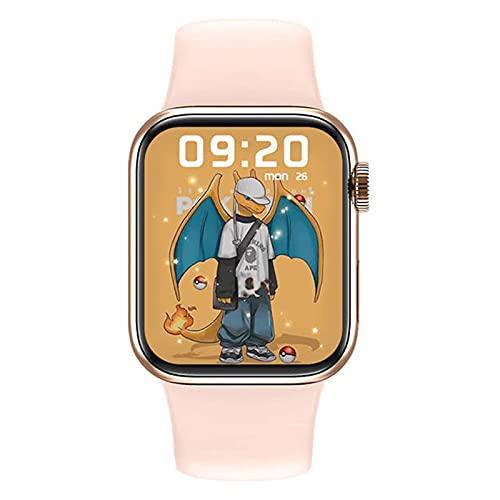 M26 Plus Smart Watch 1.77 Pulgadas Pantalla Grande Bluetooth Llamada de Bluetooth Carga inalámbrica Dial Dinámico 3D Música Impermeable Música Smartwach Hombres,C
