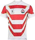 YBQQ Maillot De Rugby, T-Shirt De L'équipe Japonaise, Coupe du Monde De Rugby 2019, Maillot, Maillot De Match, Hommes/Femmes Vêtements De Sport Confortables Et Respirants pour Les Supporters