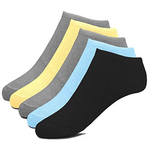 soXX Damen Socken - 10 Paar Sneakersocken in modernen Trendfarben (35-38)