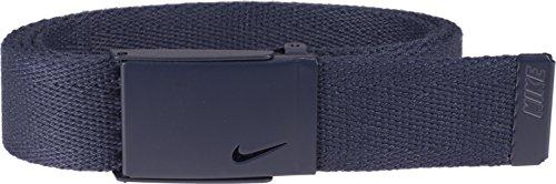 Nike Women's Tech Essential Single Web Belt, College Navy, One Size