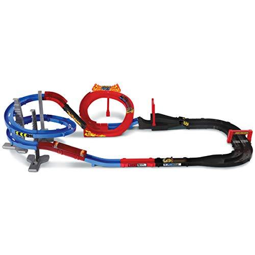 VTech Turbo Force Racers Circuito de Carreras, Pista de Acrobacias para los Coches Teledirigidos, Incluye 1 Coche Control Remoto + Mando Turbocontrol, Multicolor (3480-517522) , color/modelo surtido