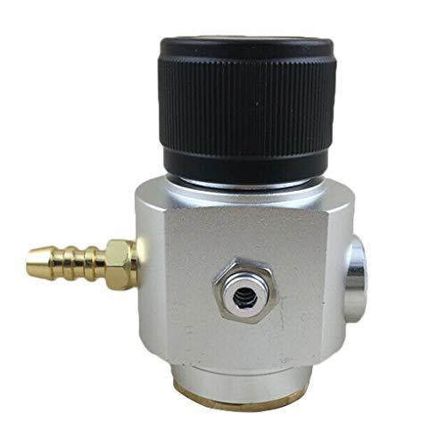 0-90 PSI CO2-regelaar Soda-drukoplader, tapbier CO2-meter CO2-oplader Tapbier Kegerator Soda-brouwregelaar