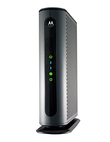 Cable de módem MB8600 DOCSIS 3.1 de 6 Gbps MAX Speed. Compatible con Xfinity Gigabit, Cox Gigablast, and More, Black