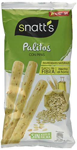 Snatt's - Palitos de trigo cin pipas - 62 g - , Pack de 6