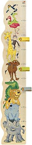 Selecta 60000 Zoorino-Messlatte, Kinderspielzeug, 100 cm