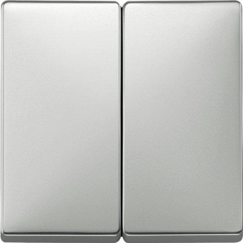 Merten 412546 Wippe für Serienschalter, Edelstahl, System Fläche
