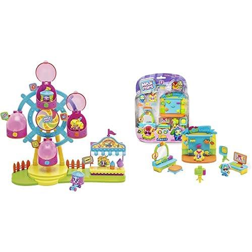 MojiPops Ferrys Wheel con 2 Exclusivas Figuras Y Variedad De Accesorios , Color/Modelo Surtido + I Like Photography con 2 Exclusivas Figuras Y Variedad De Accesorios , Color/Modelo Surtido