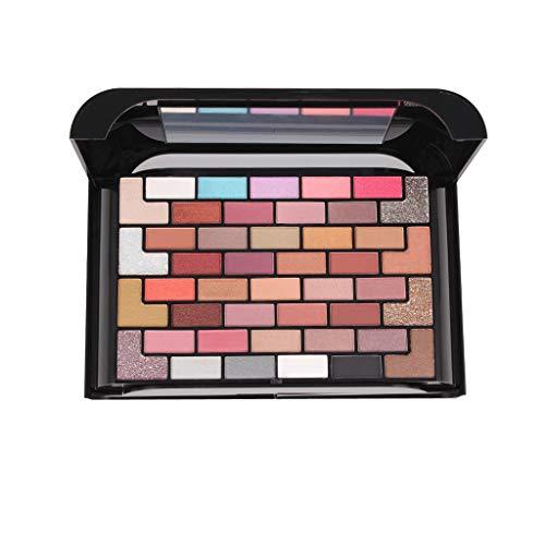 Nourich 68 couleurs fards à paupières cosmétique scintillement ombre palettes ensemble Mélangées Maquillage Professionnel Glitter Eyeshadow Mineral Yeux Eyeshadow Pigments Poudre (01#)