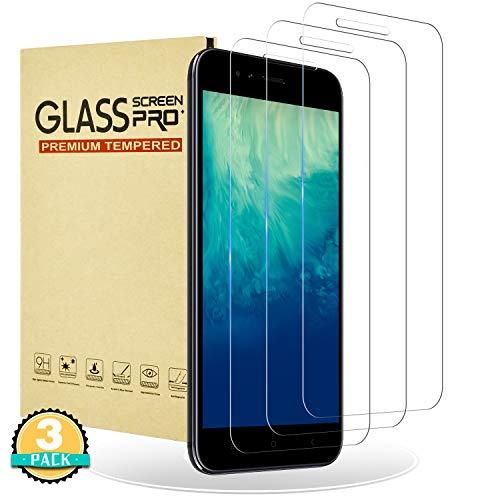 RIIMUHIR Protector de Pantalla para Xiaomi mi A1,[3 Unidades] Cristal Vidrio Templado para Xiaomi mi A1,[Alta Definición] [9H Dureza] [Anti-Huella] Película Protectora