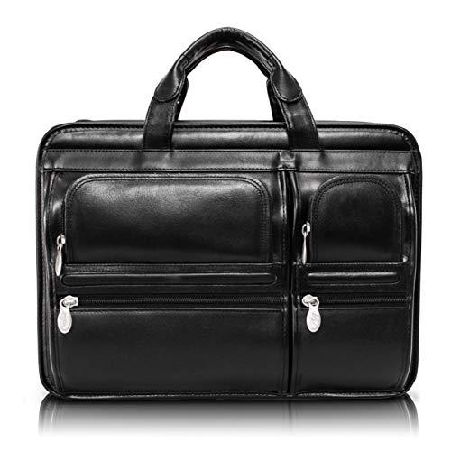 McKleinUSA HUBBARD15.6' Leather Double Compartments Laptop Case