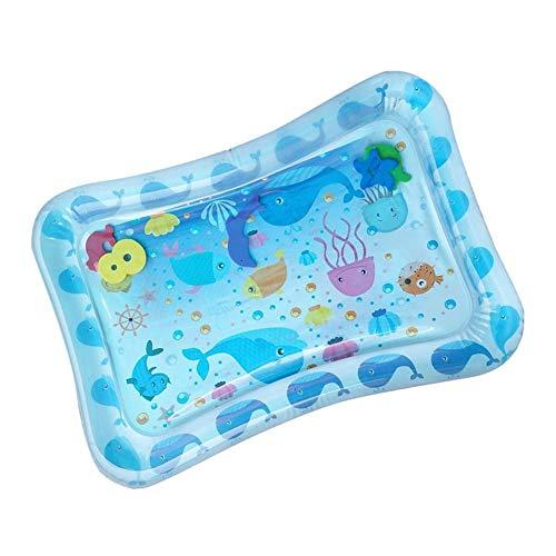 70 cm Bebé inflable Patted Water Play Pad Tummy Time Juguete Niños pequeños Diversión baby splash pad Niños Patted Pad Bebé Infantil Cojín de agua Jugar Centro de actividades