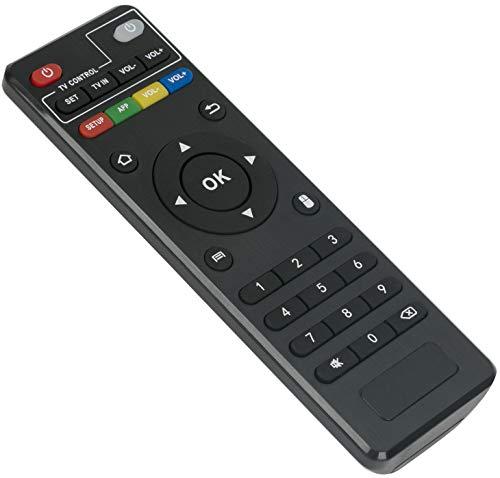 ALLIMITY Fernbedienung Ersatz für MXQ Android TV Box MXQ-Pro MXQ-4K RK3229 MX9 M8 M8C M8S M9C M9C-4K M9C-Mini M10 T95 T95M T95N T95X T95-S1 T95-S2 H96 H96-Pro X96 X96-MINI