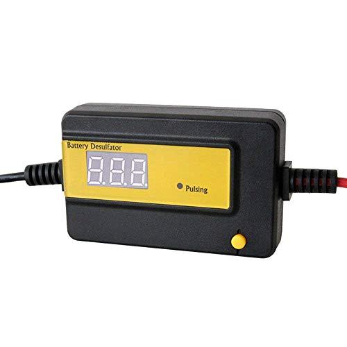 CPTDCL Desulfator 12V del ácido de la batería de plomo de la exhibición de 400Ah LED auto a 72V combinado