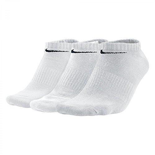 NIKE No Show Socks NFS 3ppk COTN non Cush NS smlx Mixte adulte, multicolore (noir/blanc), 43-47 EU