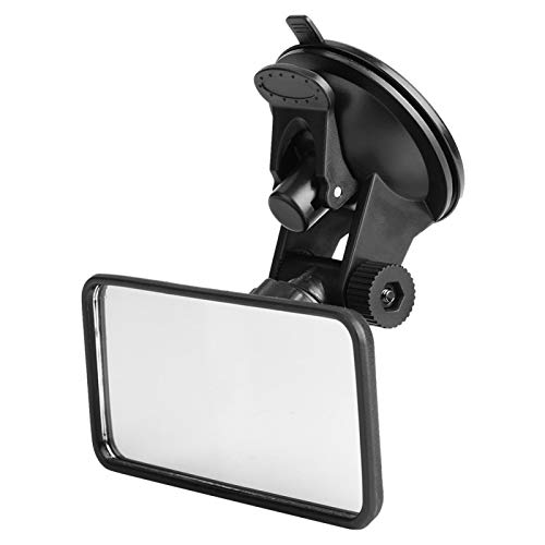 Espejo de succión para automóvil, Espejo de visión pequeño universal ajustable flexible, Espejo de automóvil para bebé, para visión trasera interior
