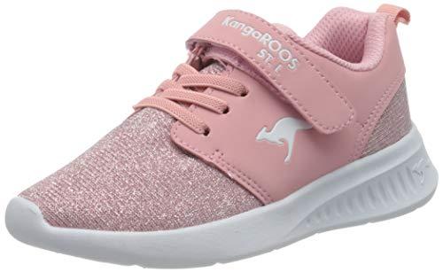 KangaROOS KL-Hinu EV Sneaker, Frost Pink/Metallic 6084, 37 EU