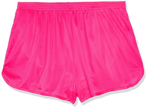 Soffe Men's Ranger Panty Running Short,Neon Pink,X-Large