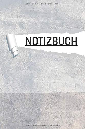 NOTIZBUCH: Motiv Deko Tapete für Schüler und Studenten I liniert I DIN A5 I 120 Seiten in Cremefarben I Journal