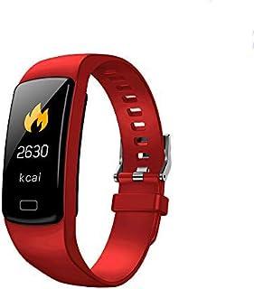 QLKJ Relojes Inteligentes Actividad Impermeable IP67 Pulsera Inteligente 0,96 Pulgadas Pantalla Color Monitor Ritmo Cardíaco y Sueño 4 Modos de Deporte Mujer Hombre Niño