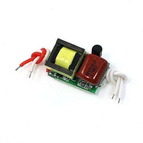 AC 110-220V DC adaptador de alimentación 8-11V 300mA para 4x1W luz de tira de LED