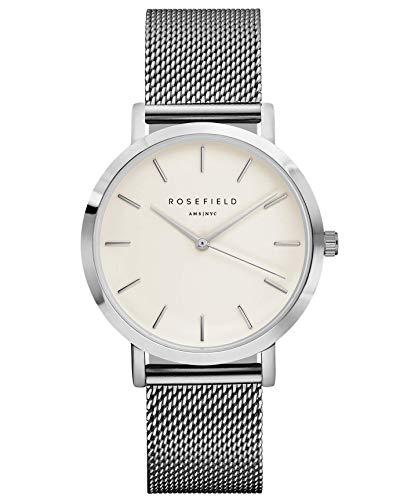 Rosefield Reloj Analógico para Mujer de Cuarzo con Correa en Acero Inoxidable MWSM40