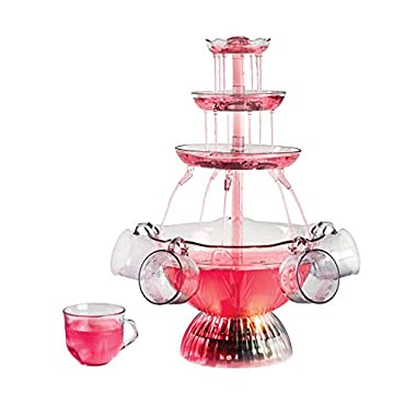 Nostalgia LPF150 Vintage Collection Lighted Party Fountain