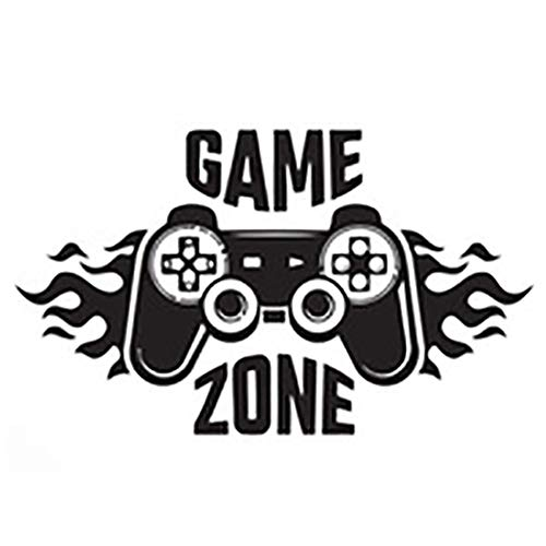 Game Zone Wandtattoo,Kuaetily DIY Gaming Gamer Wandtattoo und Wandaufkleber für Kinderzimmer (1)