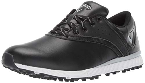 Callaway Women's Pacifica Golf Shoe, Black, 7.5 M US