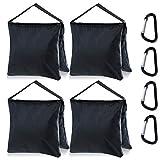 MASTERCANOPY Tripod Weight Bag Heavy Duty Sand Bag for Photo Studio,Black