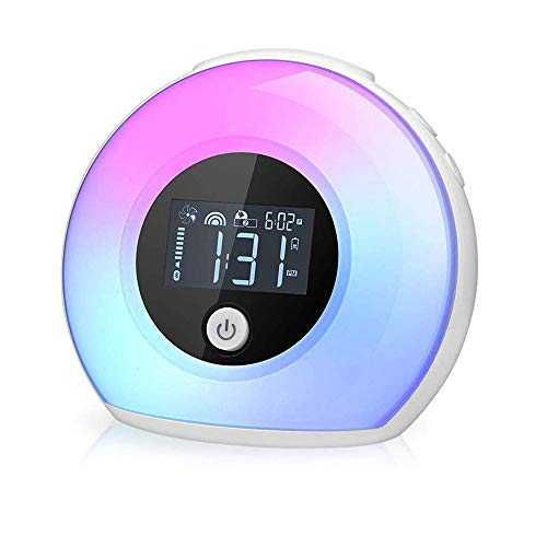 Lámpara de altavoz Bluetooth, LED Bluetooth Night Light Light Wireless Speaker With Color Cambiando LED Luz de estado de ánimo USB Recargable Color Cambiante de ánimo Lámpara de mesa para la lectura d