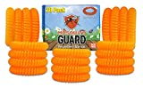 Mosquito Guard Kids Repellent Bands/Bracelets (20 Individually Packed Bands) Made with Natural Plant Based Ingredients - Citronella, Lemongrass Oil and Geraniol. DEET Free.