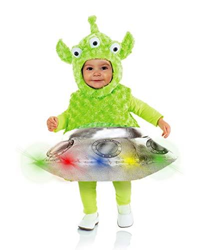 Horror-Shop Alien & OVNI con El Disfraz De Nio De LED L