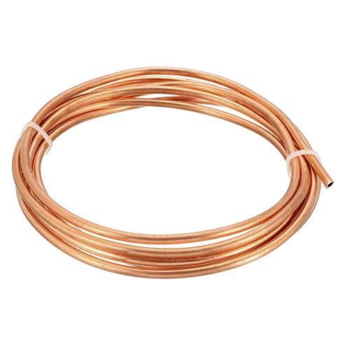 SZQL weiche Kupferrohr, Kupfer-Rundschläuche verwendet in Herstellung von Draht, Kabel, Oxidationsbeständigkeit,3m,Outer Diameter:4mm