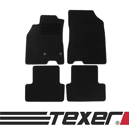 günstig Die textilen Fußmatten CARMAT TEXER sind für Fahrzeuge von Renault Megane III Bj geeignet.  2008-2015 Basic Vergleich im Deutschland