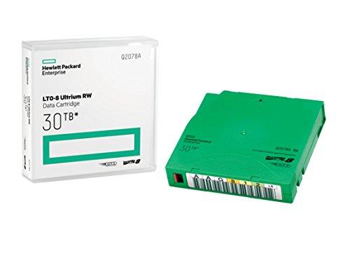 HP LTO-8 Ultrium 30TB RW Data Cartridge 12000GB LTO, 12000GB, 30000GB, 301,183kA/m, 2.5:1