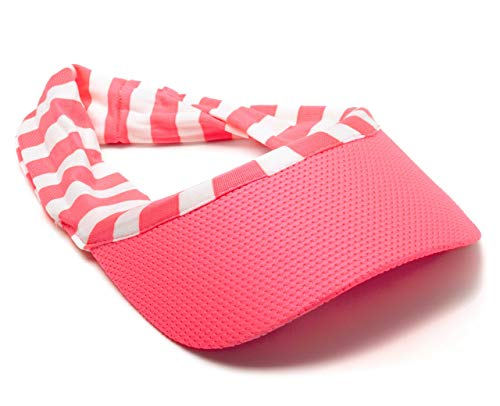 Scunci Girl Visor Pink with Bonus Blue Scrunchie