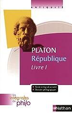 Intégrales de Philo - PLATON, République (Livre I) d'Olivier Battistini