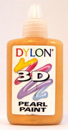 DYLON 3D Paints Pearl Golden Yellow 25ml