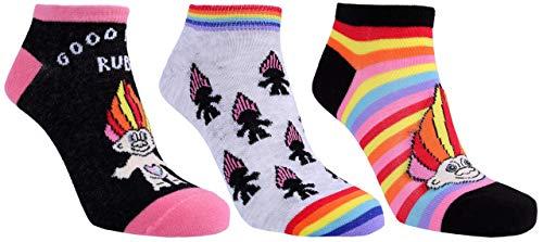 3 x Bunte Socken TROLLS DREAMWORKS