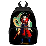 Mochila Dragon Ball Goku, Mochila Dragon Ball, Mochila Dragon Ball Escolar Pequeña Adolescente...