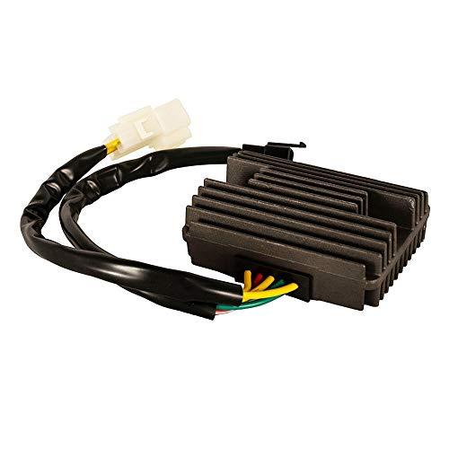 Reguladores y rectificadores de Voltaje para Apulia Dorsoduro 750 SMV750 2008-2015 Regulador de Voltaje de Metal rectificador para A p r i l i a Shiver SL750-20114 Motocicleta