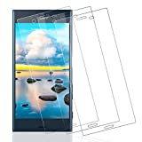 Wiestoung - Protector de pantalla de cristal templado para Sony Xperia XZ [2.5D Borde] [Antirayaduras] [Sin burbujas] [Transparente HD ] Protector de pantalla para Sony Xperia XZ-3 piezas