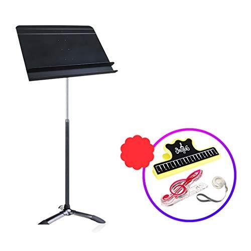 GDGQJRM keyboard-standaard muziekstandaard orkestermusikstandaard 2-laags spectrumstation gitaarmuziekstandaard vioolstandaard kan omhoog worden getild