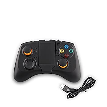 Wireless Bluetooth Gamepad Game Controller Joystick  Works for Samsung Gear VR Virtual Reality Headset /S7 S6 S5 HTC SONY Android Smart Phone Tablet PC TV BOX  by Hermitshell